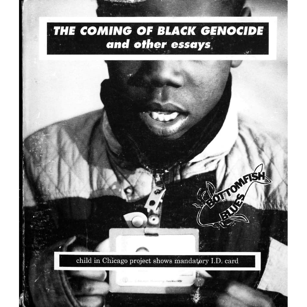 bottomfish blues the coming of black genocide and other essays by bottomfish blues the coming of black genocide and other essays by mary barfoot