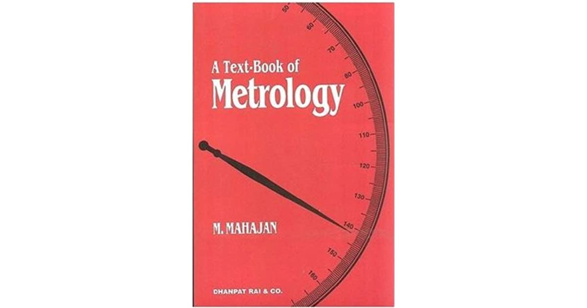 Metrology By M Mahajan Pdf
