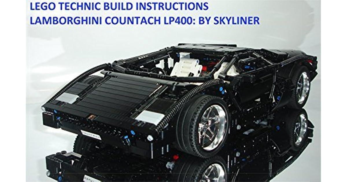 LEGO TECHNIC BUILD INSTRUCTIONS : LAMBORGHINI COUNTACH LP400