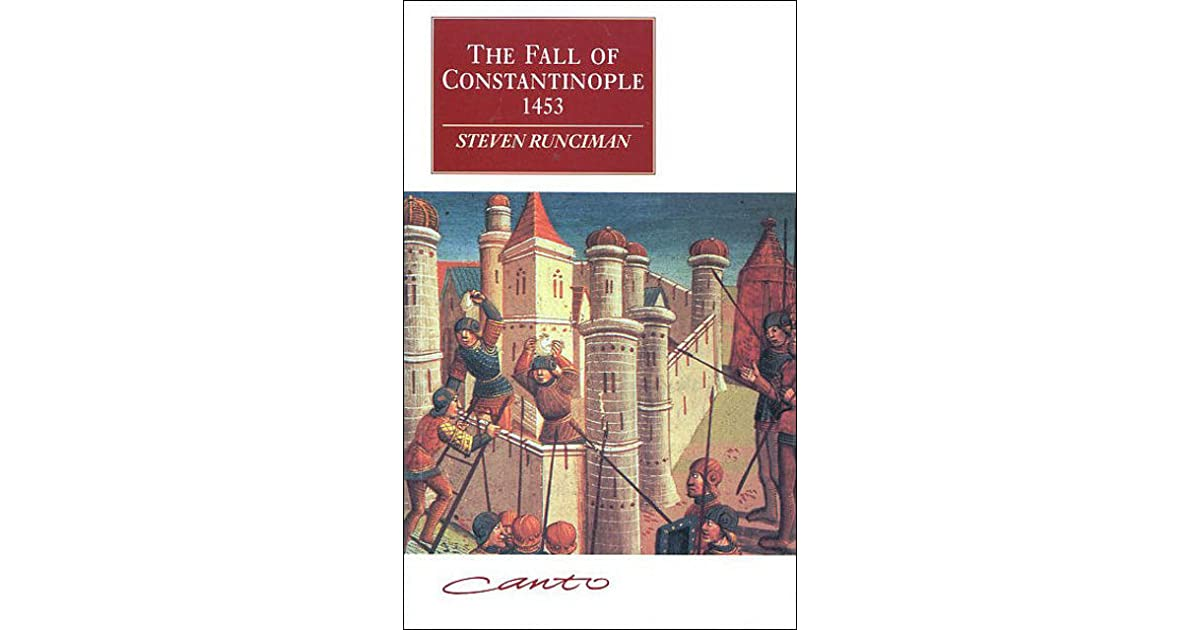 the events that led to the fall of costantinople The fall of constantinople on may 29, 1453: the events that led to may 29 it was once unthinkable for constantinople to fall into muslim hands.