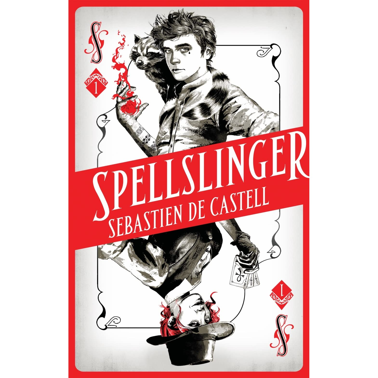 Book Cover Fantasy Baseball : Spellslinger by sebastien de castell — reviews discussion