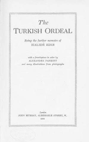 The Turkish Ordeal