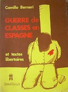 Guerre de classes en Espagne