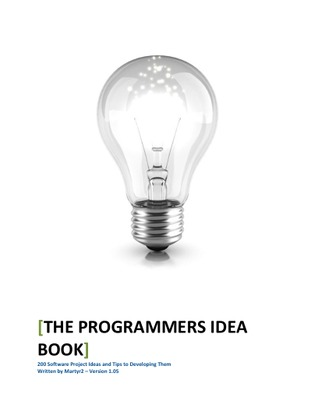 The Programmers Idea Book by Coders Lexicon