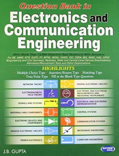question bank in electronics \u0026 communication engineering by j b guptaElectronic Circuit By Jb Gupta #21