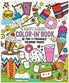 Happy Snacks Color-In' Book