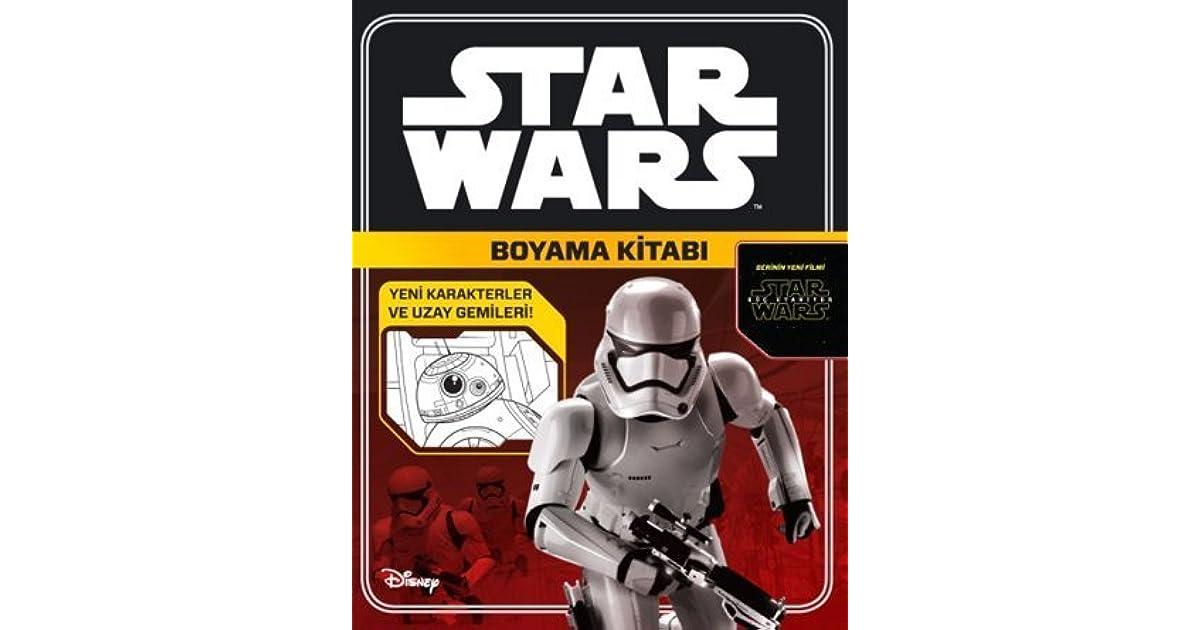 Disney Starwars Boyama Kitabi By Kolektif