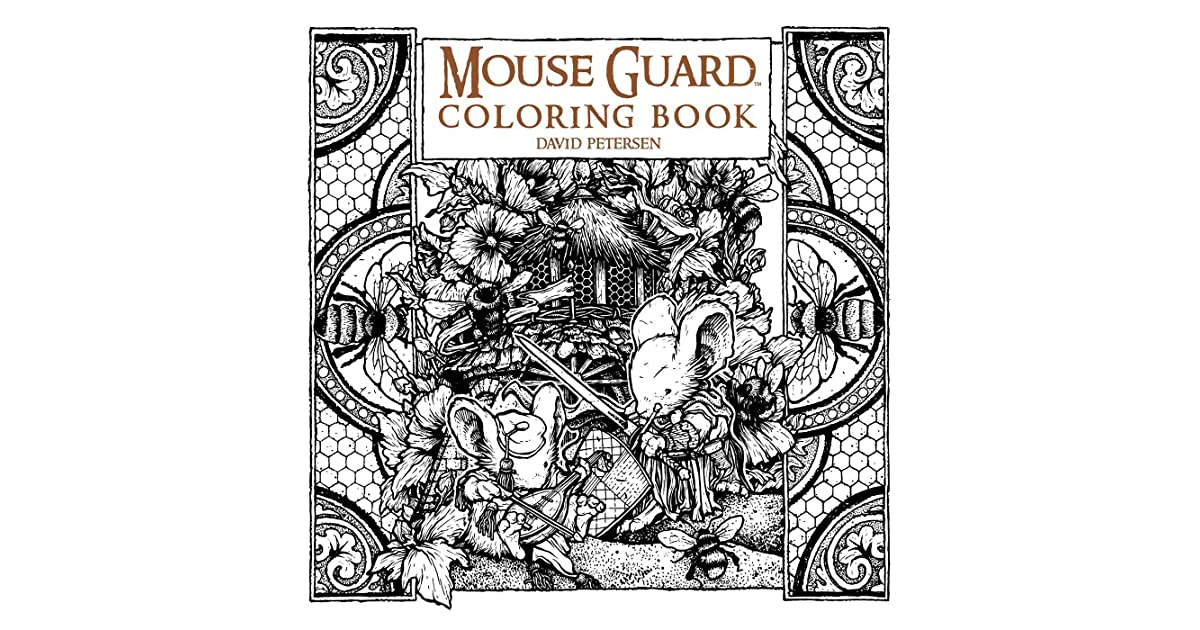 Mouse Guard Coloring Book By David Petersen