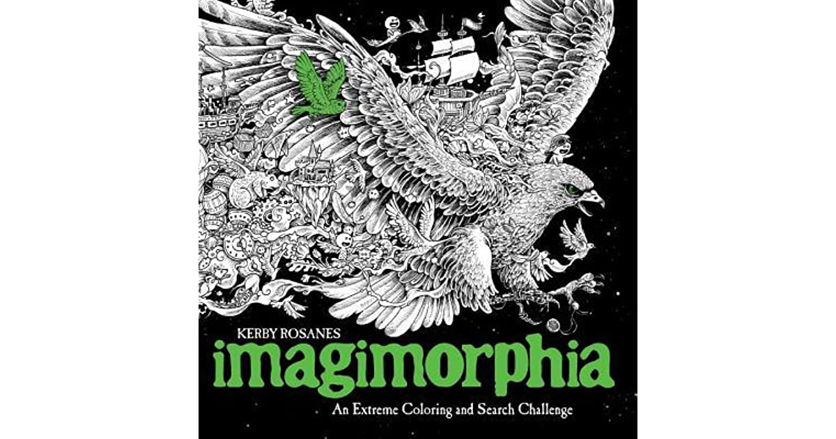 Imagimorphia: An Extreme Coloring and Search Challenge by