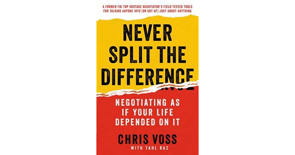 Never split the difference book review