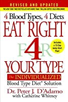 Eat Right 4 Your Type: The Individualized Blood Type Diet Solution