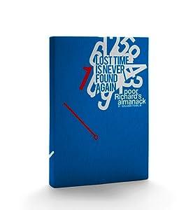 Poor Richard's Almanack Hardcover Journal: (Hard Cover Notebook)