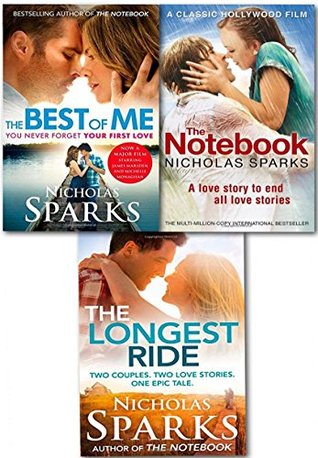 Nicholas Sparks Love Stories Collection 3 Books Set by Nicholas Sparks