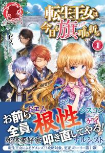 Tensei Oujo wa Kyou mo Hata o Tatakioru Vol.1 Image