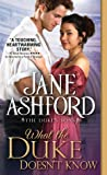 What the Duke Doesn't Know (The Duke's Sons #2)