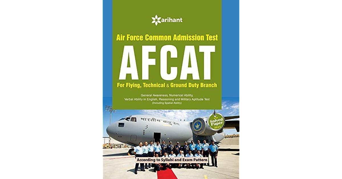 Afcat Arihant Book