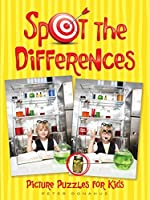 Spot the Differences Picture Puzzles for Kids