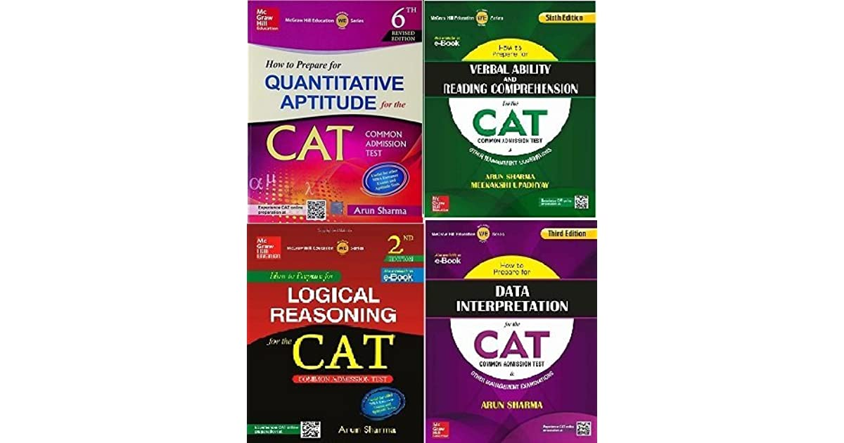How To Prepare For The CAT Common Admission Test Set Of 4