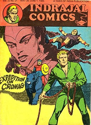Indrajal Comics-569-Flash Gordon: Expedition On Cromag by Alex