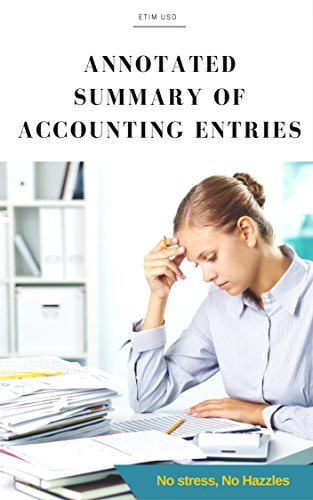 Annotated Summary of Accounting Entries Etim Uso