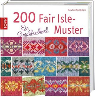 Mary Jane Mucklestone Fair Isle Motifs Japanese Knit Pattern Book B1538 Colorful Design Easy Knitting Tutorial A Knitting Directory