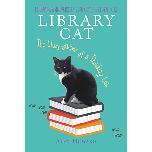 Favorito Library Cat: The Observations of a Thinking Cat by Alex Howard TY15