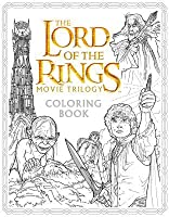 the lord of the rings movie trilogy coloring book - Lord Of The Rings Coloring Book