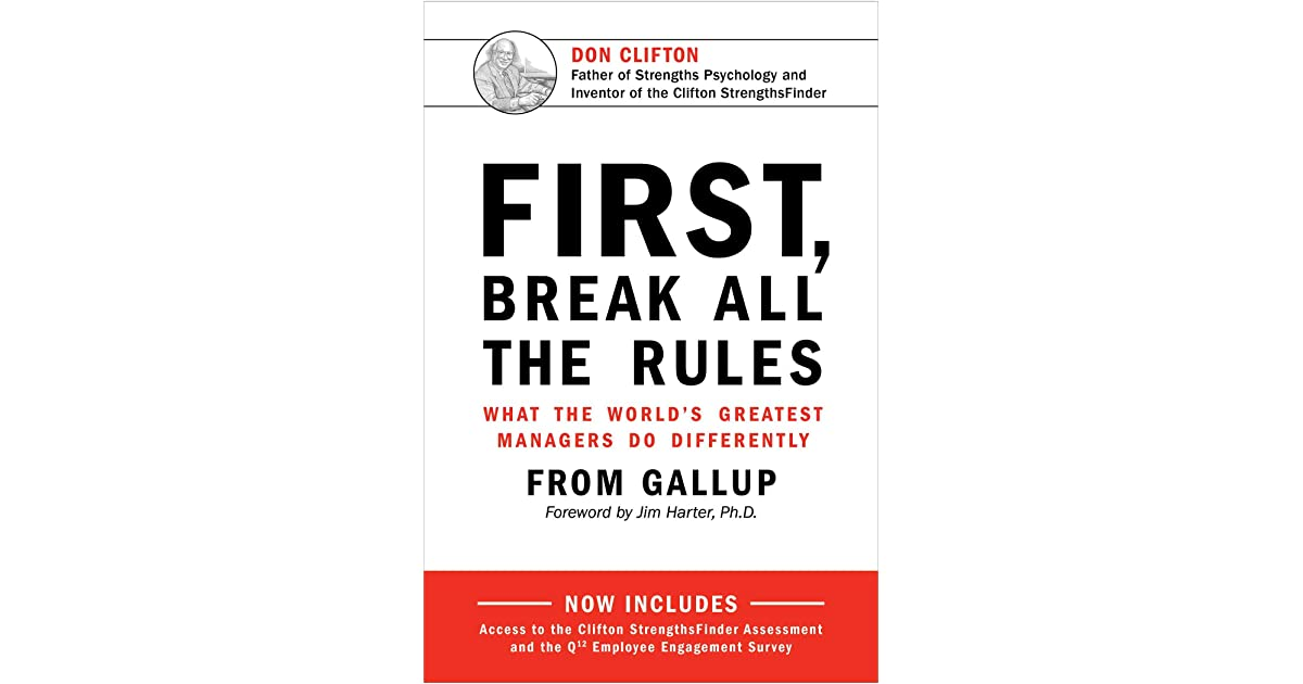 first break all the rules gallup pdf