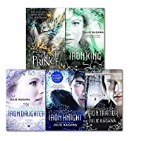 The Iron Fey Series Julie Kagawa Collection 5 Books Set, (The Lost Prince, The Iron Knight, The Iron Daughter, The Iron King and The Iron Traitor)