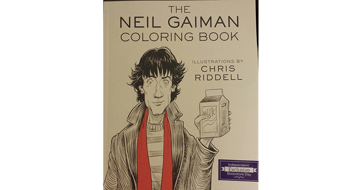 Coloring Bookstore The Neil Gaiman Book By U2014 Reviews Discussion