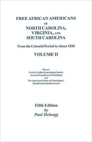 free african americans of north carolina virginia and south carolina