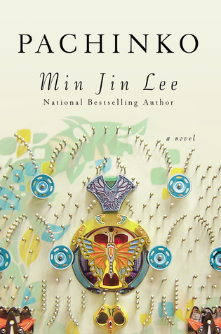 "Cover of Min Jin Lee's ""Pachinko"" hardcover edition."