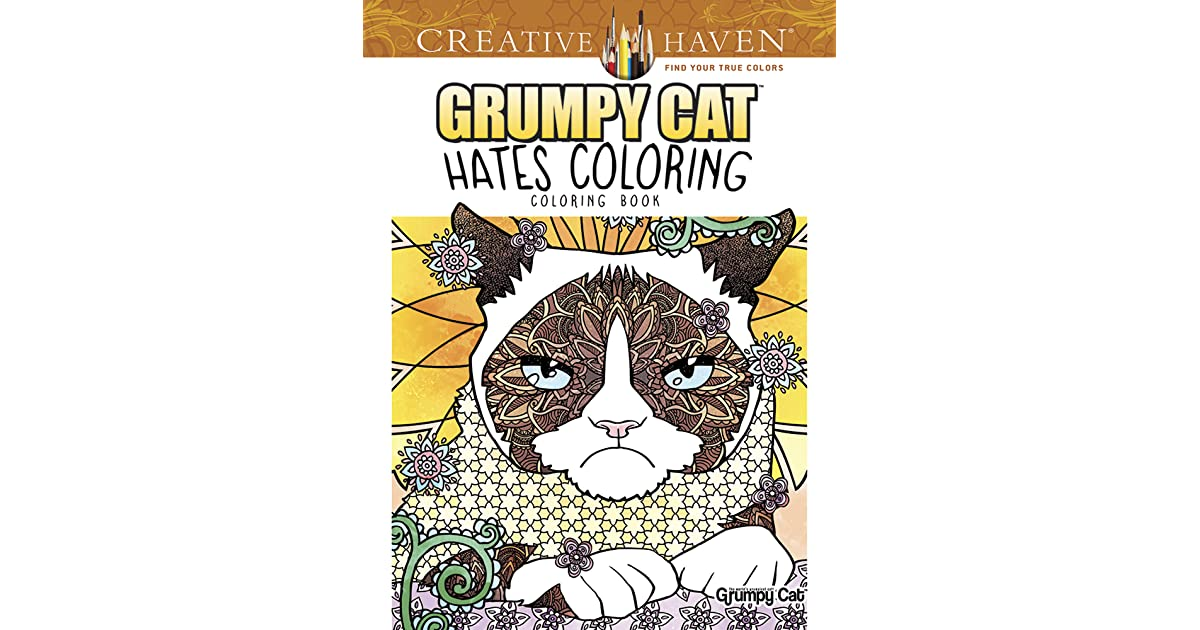 Creative Haven Grumpy Cat Hates Coloring Book By Diego Jourdan Pereira