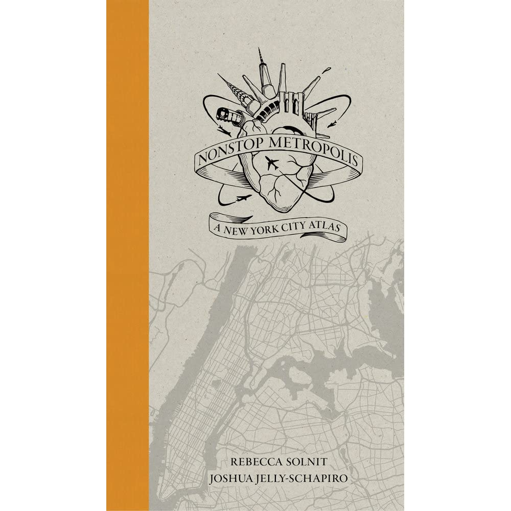 Rebecca Solnit Women Subway Map.Nonstop Metropolis A New York City Atlas By Rebecca Solnit