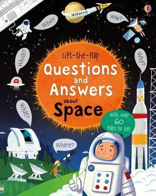 Questions And Answers about Space (Lift-The-Flap)