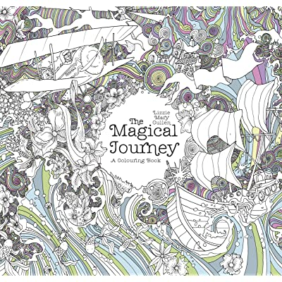 The Magical Journey A Colouring Book By Lizzie Mary Cullen