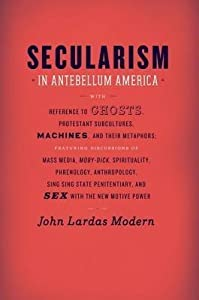 Secularism in Antebellum America: With Reference to Ghosts, Protestant Subcultures, Machines, and Their Metaphors: Featuring Discussions of Mass Media, Moby-Dick, Spirituality, Phrenology, Anthropology, Sing Sing State Penitentiary, and Sex with the Ne...