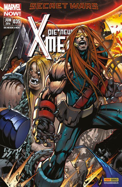 Die neuen X-Men #35  by  Fabian Nicieza