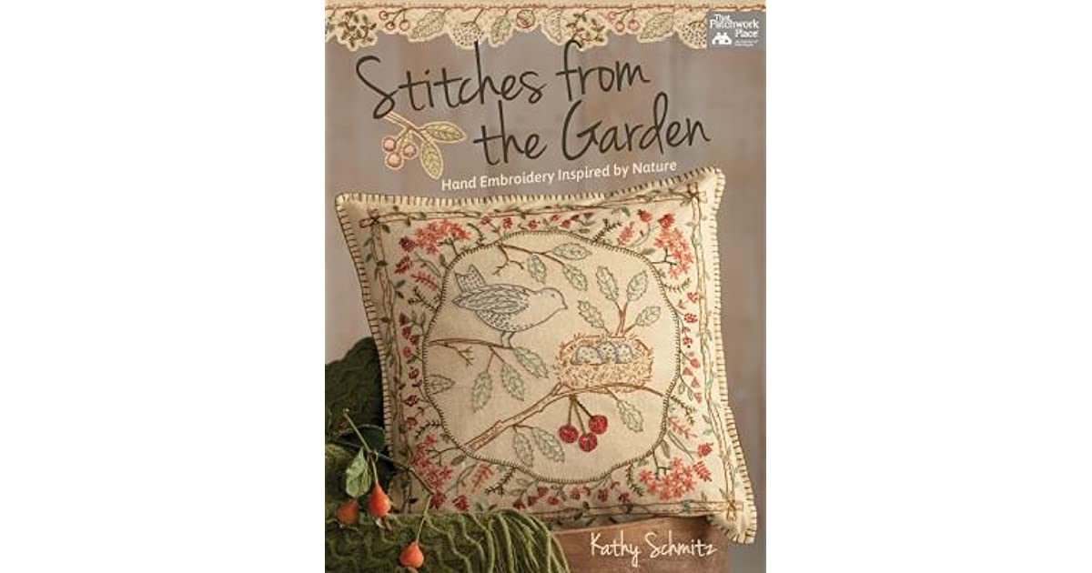 Stitches From The Garden Hand Embroidery Inspired By Nature By