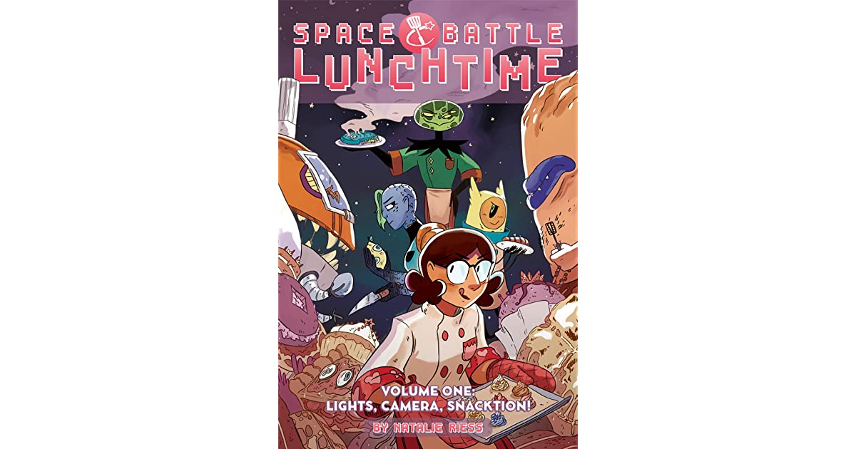 Space Battle Lunchtime Vol 1 Lights Camera Snacktion By Natalie