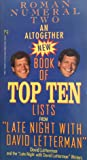 An Altogether New Book of Top Ten Lists from Late Night With David Letterman