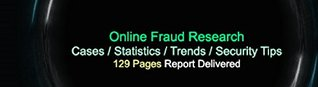 Online Fraud Research: Online crime has affected the world wide web businesses and individuals since the initial appearance and spread of the Internet networks all over the world.