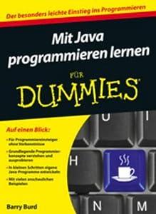 Mit Java Programmieren Lernen F�r Dummies