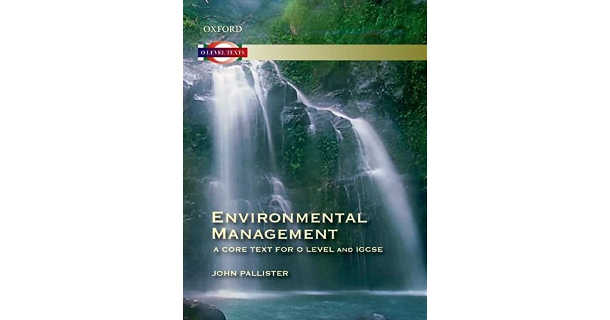 Environmental Management Igcse Book
