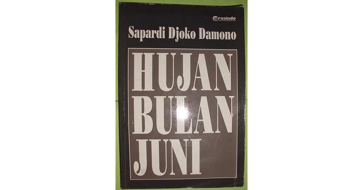 hujan bulan juni by sapardi djoko damono