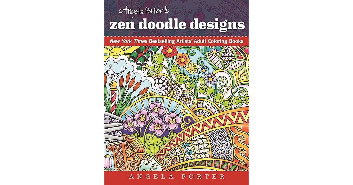 Angela Porters Zen Doodle Designs By Porter