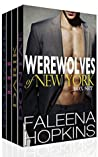 Book cover for Werewolves of New York: 4 Stand Alone Novels Boxed Set