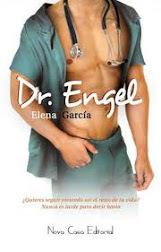 Portada de la novela romántica contemporánea Dr. Engel, de Elena García