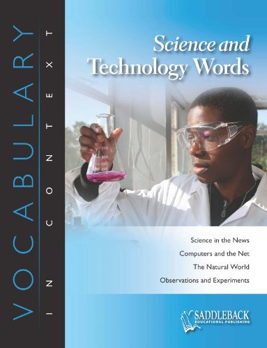 Vocabulary in Context Science and Technology