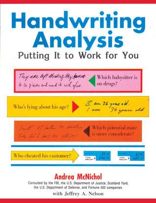 handwriting analysis by andrea mcnichol ebook